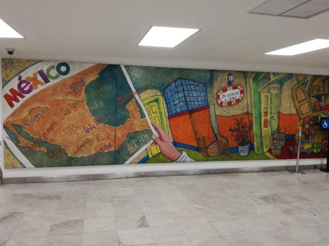 メキシコシティ空港からのアクセス