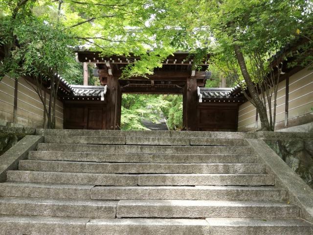 法輪寺入り口前