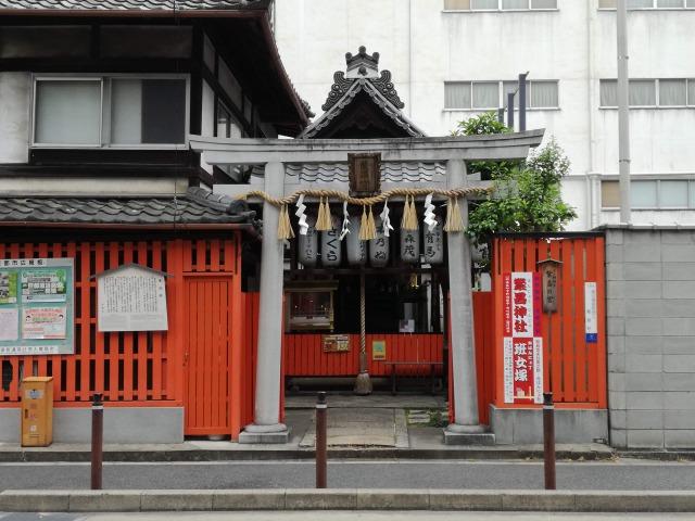 繁昌神社の全体図