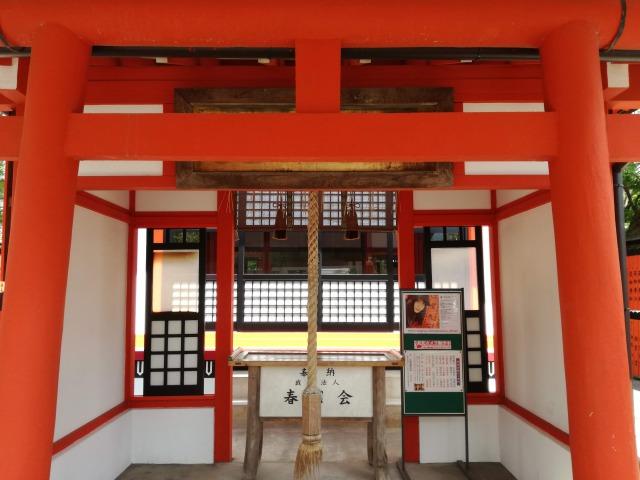 芸能神社拝殿