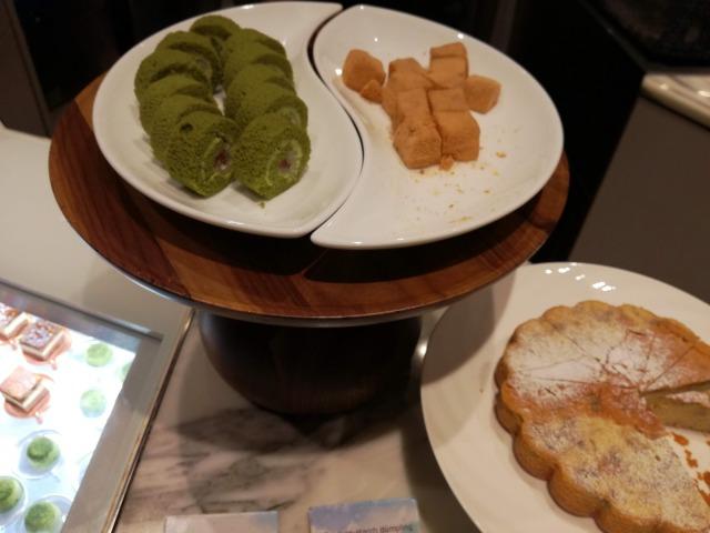 抹茶・わらび餅