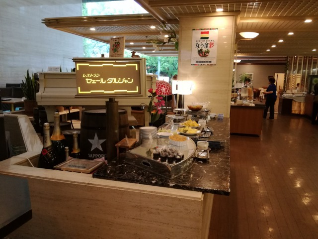 ホテルフジタ奈良のレストランに関して