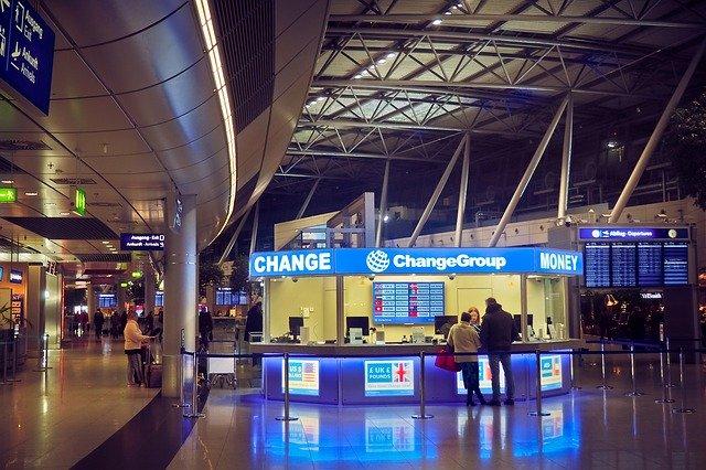 空港の両替